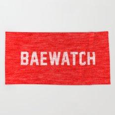 Baewatch Beach Towel