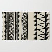 zebra Area & Throw Rugs featuring MALOU ZEBRA by Aztec