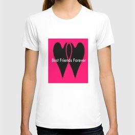 Best Friends Forever jGibney The MUSEUM Gifts society6  T-shirt