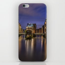Hamburg River iPhone Skin