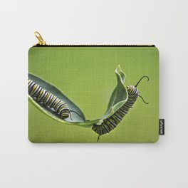 Monarch Caterpillars Carry-All Pouch