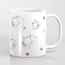 Love Fox Doodle Art Coffee Mug