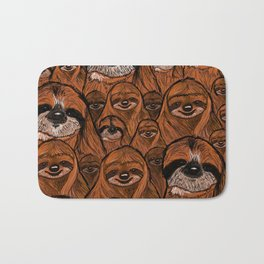 Mountains and mountains of sloths. Bath Mat