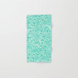 Knee-Deep in Turquoise Ink Hand & Bath Towel