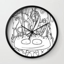 Sleepy Forest Giant Wall Clock