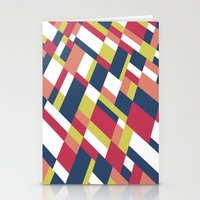matisse Stationery Cards featuring Map Matisse Stretched by Project M