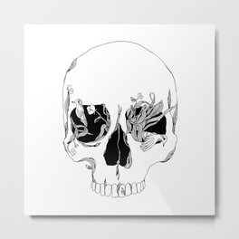 Still Existing Metal Print