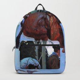 Going In, The Bear Hunters - William Herbert Dunton Backpack