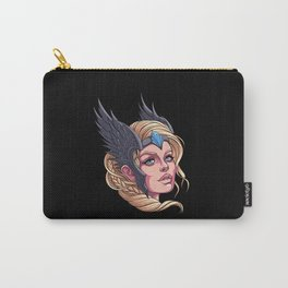 Beautiful Valkyrie - Nordic Viking Sister Carry-All Pouch