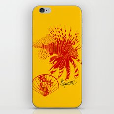 Chinese Cut Out Lion Fish iPhone & iPod Skin