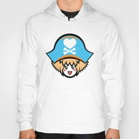 pagan Hoodies featuring Captain Pagan by Pagan Holladay