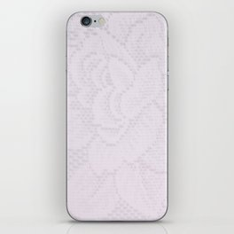 Lavender Lace iPhone Skin