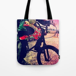 Unknown Racer Tote Bag