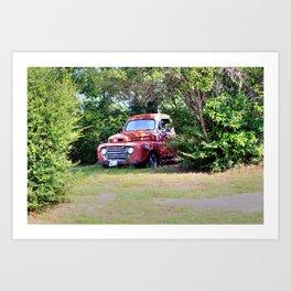 1950 Ford F100 Art Print