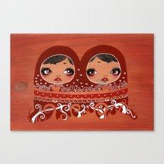 Matrioskas  Canvas Print