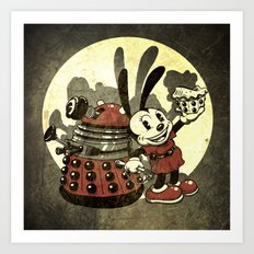 Lucky Clara Oswald Art Print