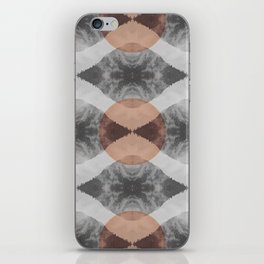 the repeat mountains iPhone Skin