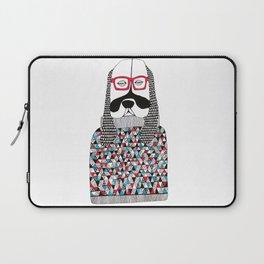 Hipster dog  Laptop Sleeve