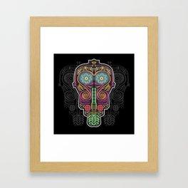 Boho Mask Framed Art Print