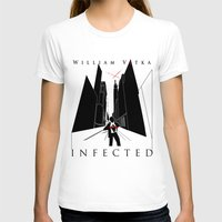 book cover T-shirts featuring Infected - Book Cover by svitka