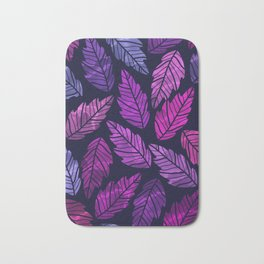 Colorful leaves III Bath Mat
