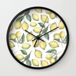 Lemon Fresh Wall Clock