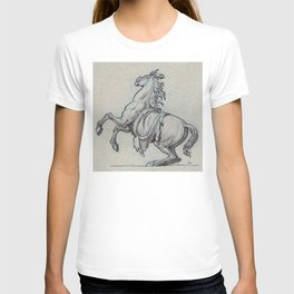 Horse, Marly court, Louvre T-shirt