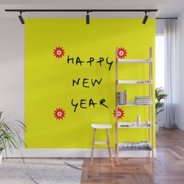 happy new year 13 Wall Mural