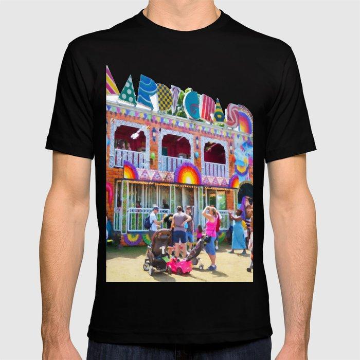 3f576527cdef76 Mardi Gras T-shirt by lanjee | Society6