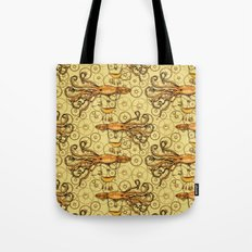 Steampunk Squid Transport Tote Bag