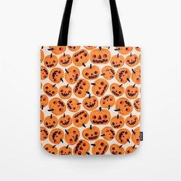 Halloween Jacks Tote Bag
