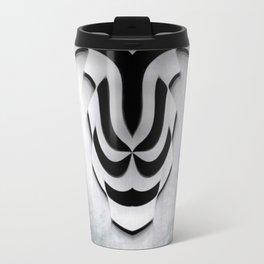 Curvilinear Art Travel Mug