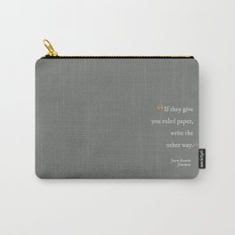 Write the Other Way Carry-All Pouch