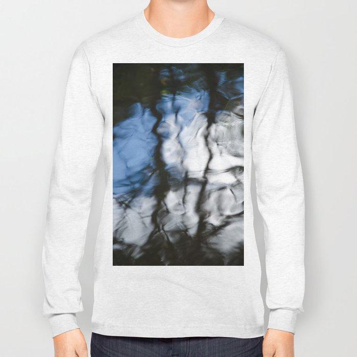 Abstract water reflection Long Sleeve T-shirt