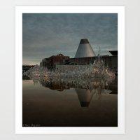 Reflections in MOG 2 Art Print