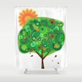 Be Like A Tree Shower Curtain