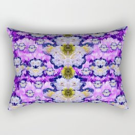 flowers from sky bringing love and life Rectangular Pillow