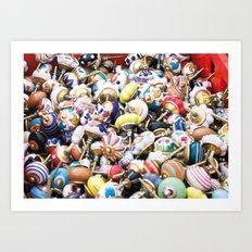 Turkish Door Knobs Art Print