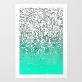 Glitteresques XXXV Art Print