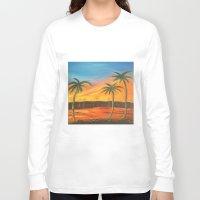 desert Long Sleeve T-shirts featuring Desert by ArtSchool
