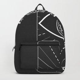 Minimal Tarot  Deck The Devil Backpack