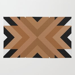 Geometric Art with Bands 11 Rug