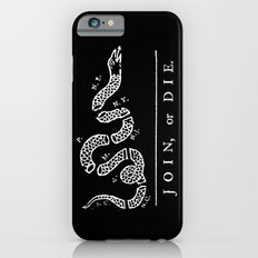 Join or Die in Black and White iPhone 6s Slim Case