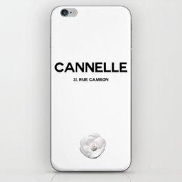 CANNELLE - PARIS iPhone Skin