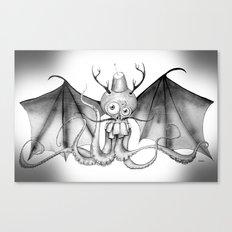 MonoChro-Monster Canvas Print