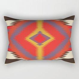 American Native Pattern No. 87 Rectangular Pillow