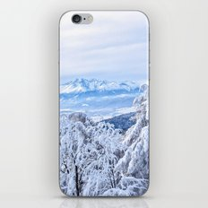 White out #mountains #winter iPhone & iPod Skin