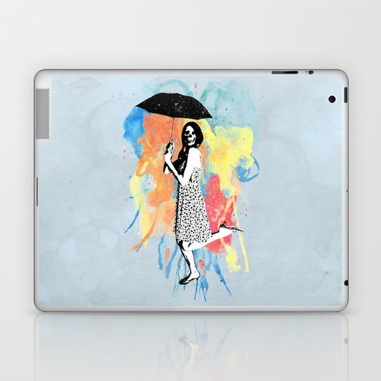 Water Color Laptop & iPad Skin