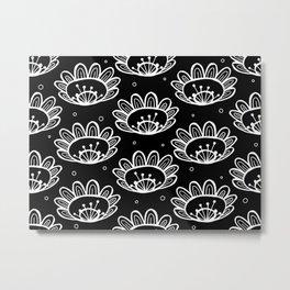 Pollen (in Black & White) Metal Print