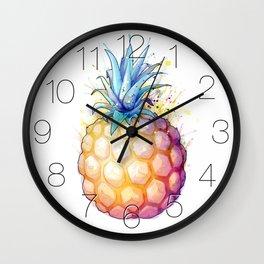 Fat Pineapple 2 Wall Clock